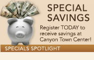 Canyon Town Center Specials